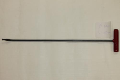 Крючок Ø 10 мм, длина 600 мм.