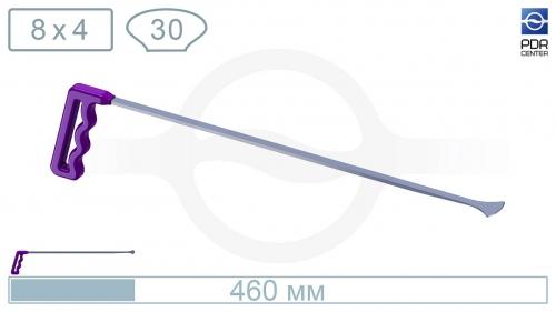 """""""Ласточкин хвост"""", средний (плоский, длина 460 мм, фиолетовый)"""