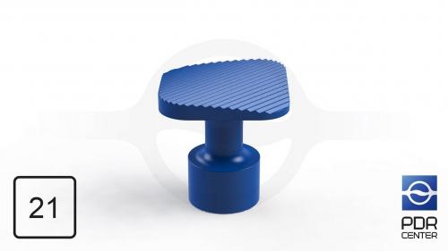 NUSSLE PROFI Пистоны для минилифтера, квадратные (21 мм * 21 мм, синие)