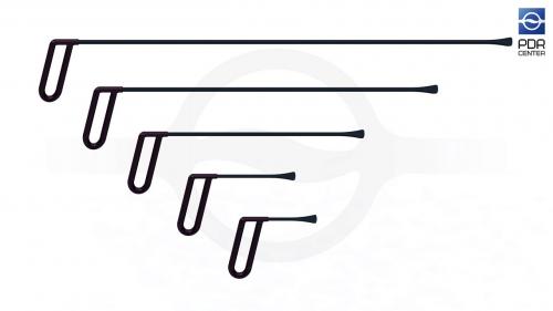 Набор из пяти инструментов для работы под усилителями КТ-5