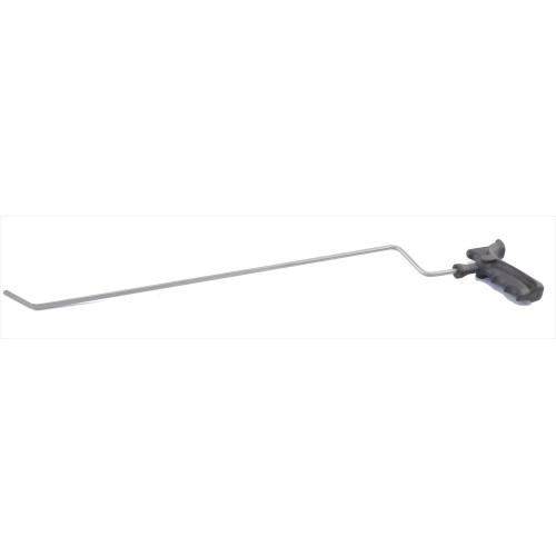 Крючок для сложного доступа, левый угловой, плоский (длина 59,5 см, угол загиба 45º, длина загиба 35 мм, Ø 6 мм)