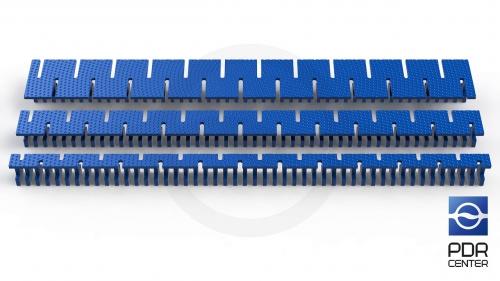 Клеевые ленты Keco Centipede (комплект из 3-х штук)