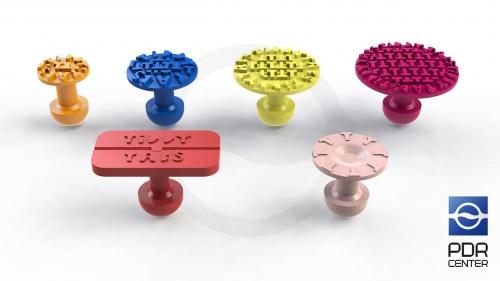Комплект грибков Tiddy (6 штук)