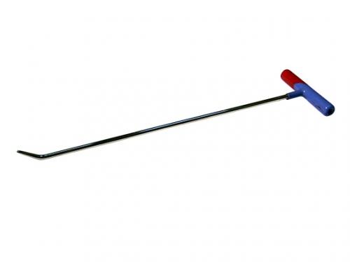 Крючок №12n Длина 50 см. Длина загиба 3 см. Угол загиба 45°. Ø8 мм.