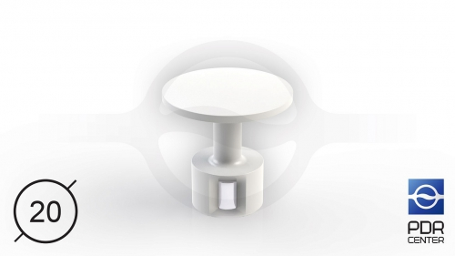 ULTRA клеевой грибок с магнитом (Ø 20 мм)