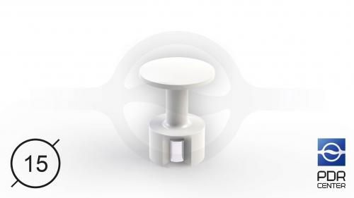 ULTRA клеевой грибок с магнитом (Ø 15 мм)