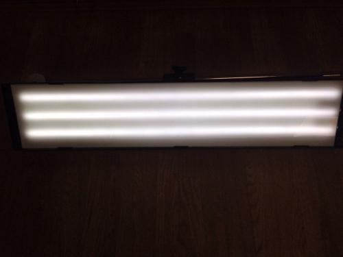 Большой светодиодный плафон с пультом д/у, 6 полос, диммер(регулировка яркости), 220V
