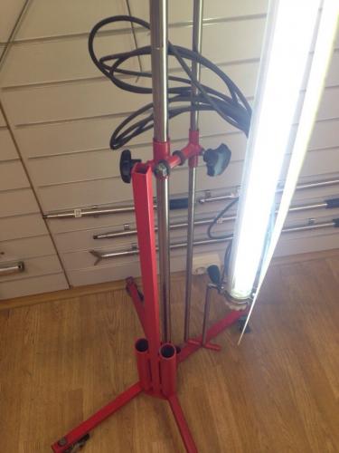 Комплект лампа в сборе (Большая лампа + рассеиватель + держатель + штатив+большой пульт)