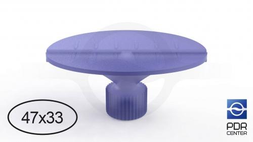 Клеевой грибок Wurth, фиолетовый, овальный