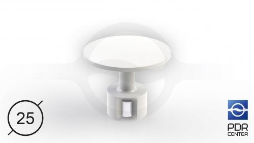 ULTRA клеевой грибок с магнитом (Ø 25 мм)