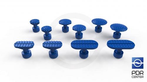 Клеевые грибки Keco Rib (комплект из 10-ти штук)