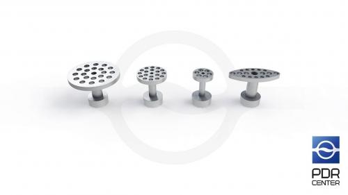 Комплект алюминиевых грибков GT-7 (4 штуки)