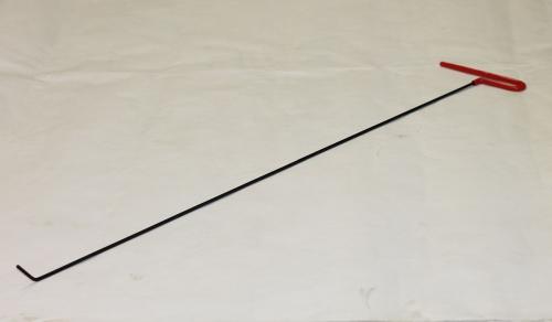 Крючок Ø 4 мм, длина 800 мм,угол загиба 45º.