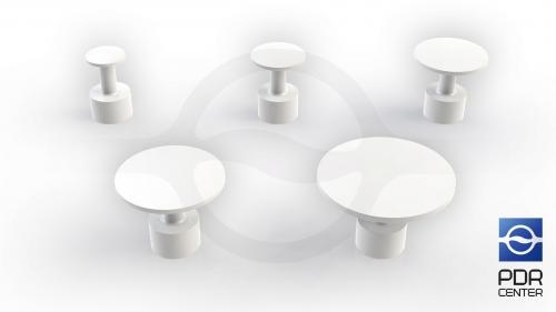 Комплект грибков Ultra Dent Standart (5 шт, 12 - 30 мм)