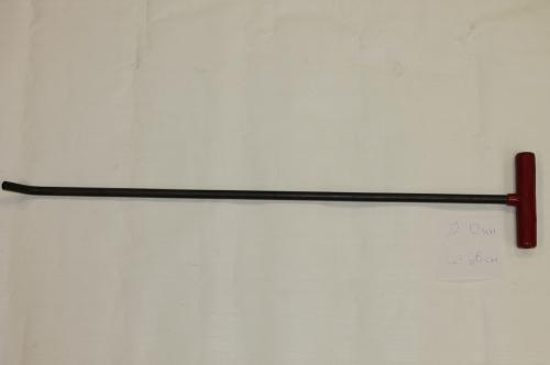 Крючок Ø 11 мм, длина 660 мм.