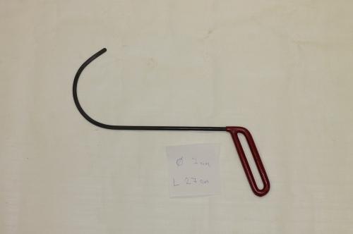 Крючок Ø 7 мм, длина 270 мм.