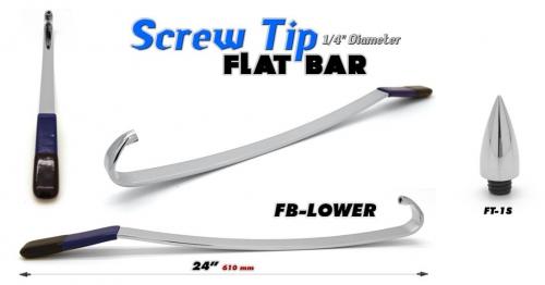 Флет бар fb-lower со сменным наконечником ft-1s