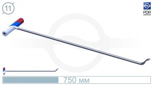 Крючок PDRC-10 Длина крючка 70 см. Длина загиба 5 см. Угол загиба 90°. Ø11 мм