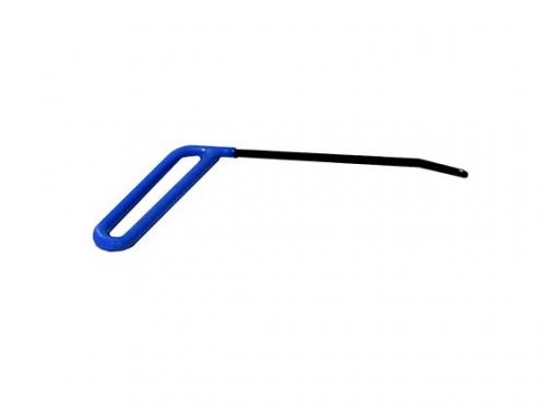 Крючок №35 Длина 17 см.Длина загиба 4 см. Угол загиба 30°. Ø5 мм.