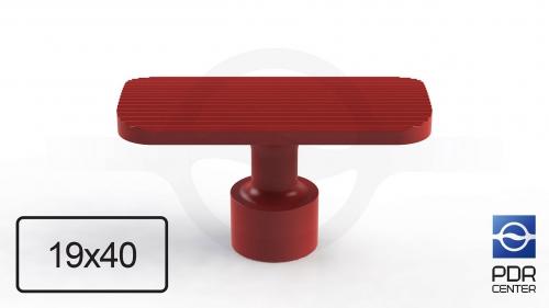 NUSSLE PROFI Пистоны для минилифтера, прямоугольные (40 мм * 19 мм, красные)