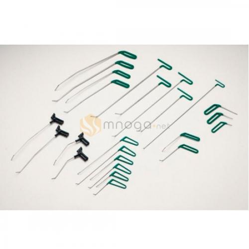 Комплект крючков из пружинистой стали, 24 крючка