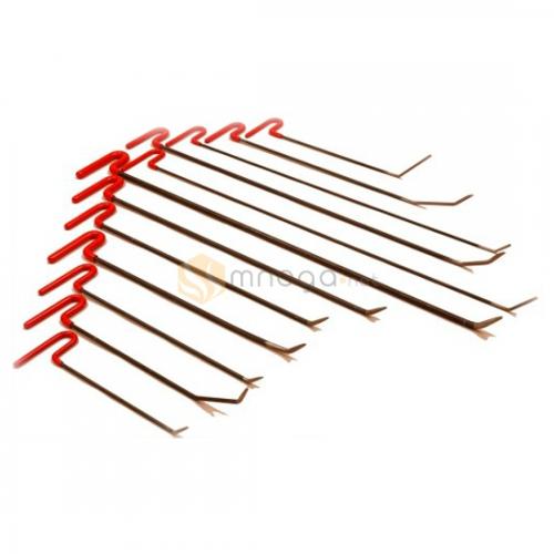Rod Set - Комплект стандартных крючков из пружинистой стали, 12 крючков