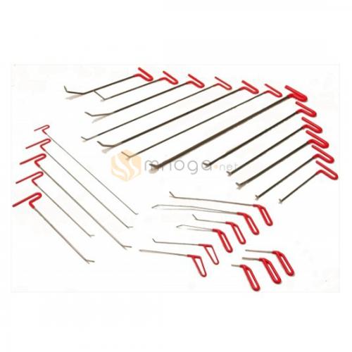Tech Set - Комплект крючков из пружинистой стали, 26 крючков